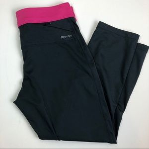 Nike Run Fast Live Fearless Leggings Cropped Capri